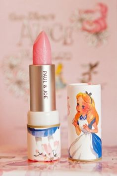 Paul & Joe: Proprietors of the best cosmetic packaging in the universe. Alice in Wonderland lipstick