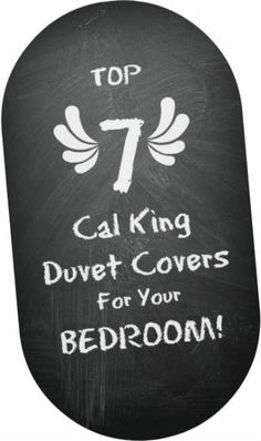 check out these great cal king duvet cover options for your bedroom