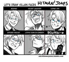 hitman jones hetalia<---the last one is adorable Latin Hetalia, Hetalia Anime, Hetalia Funny, Assassin, Hetaoni, Hetalia America, Hetalia Characters, Hetalia Axis Powers, Usuk