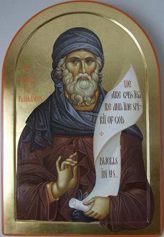 John of Damascus. Byzantine Art, Byzantine Icons, Religious Icons, Religious Art, Greek Icons, Paint Icon, Religious Paintings, Russian Icons, Best Icons