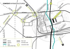Final Master ThesisMaster in Urban Vision and Architectural Design, Domus Academy 2013 Site Analysis Architecture, Architecture Mapping, Architecture Concept Diagram, Architecture Graphics, Landscape Architecture, Architecture Design, Urban Design Concept, Urban Design Diagram, Urban Design Plan