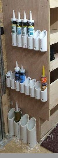 a Garage Storage System On The Ceiling of Your Garage! Create a Garage Storage System On The Ceiling of Your Garage! Create a Garage Storage System On The Ceiling of Your Garage! Create a Garage Storage System On The Ceiling of Your Garage! Garage Storage Systems, Diy Garage Storage, Shed Storage, Garage Shelving, Storage Drawers, Pvc Pipe Storage, Spray Paint Storage, Secret Storage, Storage Cart