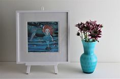 Blue Bird, Give It To Me, Dance, Handmade Gifts, Awesome, Painting, Etsy, Home Decor, Dancing