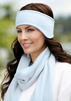 Hot Polar Fleece Headband Earmuff Ear Muff Warmer Head Wrap Ski Snowboard  White  Unbranded Winter e551b3991aa