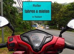 Roller fahren Thailand