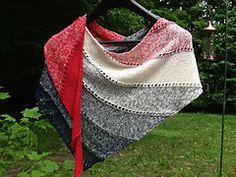 Ravelry: Dangling Conversation shawl pattern by Mindy Ross