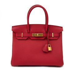 buy safe and secure at labellov.com hermes birkin 30 togo rouge vif ghw  Hermes 01c5c2ac0c7fc