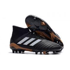 online retailer fbc20 14b28 Adidas Predator 18.1 FG fotbollskor Kolgrå vit och röd