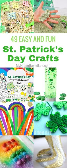 Gather your kiddos for these St. Patrick's Day Crafts for kids. They are so simple and totally fun. We've even added a few science experiments as well. #stpatricksday #craftsforkids #diy #scienceexperimentsforkids #stemactivities | STEM Activities | St. Patrick's Day Crafts for kids | Easy Crafts for kids | Simple Crafts for Kids | Kids Activities | Kids Crafts |  via @myhomebasedlife