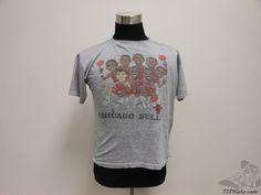 Vtg 90s Salem Chicago Bulls Short Sleeve t Shirt Rings sz XL Extra Large Jordan #Salem #ChicagoBulls #tcpkickz