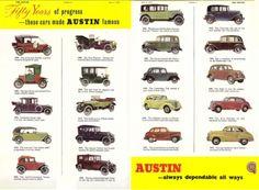 1955 Austin Car Advert