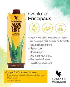 99,7% pure jus d'aloe vera encore meilleur pour la santé
