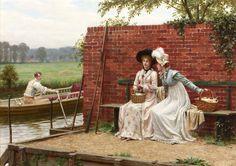 Realidad ficticia Modelo - Romantic World Edmund Blair Leighton,