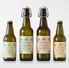 Olsons - simple, elegant but looks more like wine. Nice idea for barley wine :)