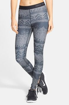 Free shipping and returns on Nike 'Pro Hyperwarm' Nordic Print Tights at Nordstrom.com. Thermal Dri-FIT fabric shapes supportive, fitted training tights that wick away moisture as they lock in heat. Strategically placed flat seams reduce chafing and irritation.
