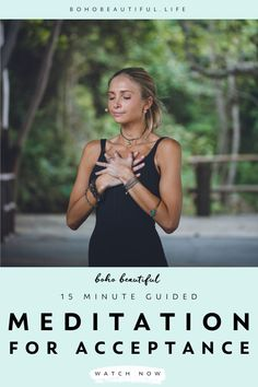This 15 minute meditation was created to help you with any anxieties or fear of the future and/or the past Pilates For Beginners, Meditation For Beginners, Meditation Techniques, Yoga Poses For Beginners, Chakra Meditation, Meditation Music, Mindfulness Meditation, Guided Meditation, Meditation Scripts