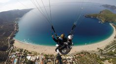 Ölüdeniz remains one of the most photographed beaches on the Mediterranean. Breathtaking panorama and stable weather conditions make launch site at Babadag Mountain the best in Europe.