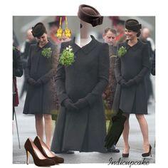 17.03.15 St. Patrick's Day-Duchess of Cambridge