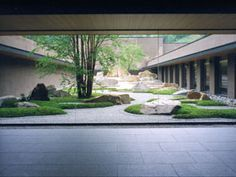 Modern landscape design architecture rocks new Ideas Zen Garden Design, Courtyard Design, Japanese Garden Design, Japanese Landscape, Chinese Garden, Modern Landscape Design, Landscape Architecture Design, Modern Landscaping, Modern Design