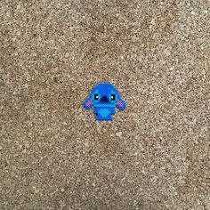 Items similar to Stitch Inspired Magnet , Lilo and Stitch ohana on Etsy Easy Perler Bead Patterns, Melty Bead Patterns, Diy Perler Beads, Perler Bead Art, Pearler Beads, Fuse Beads, Beading Patterns, Lelo And Stitch, Lilo And Stitch Ohana