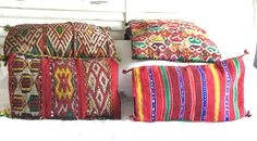 Beautiful moroccan cushions at www.buenapieza.com :-) enjoy them!!!