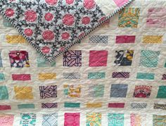 Quilt for a girl or woman to snuggle up in on a cool autumn or winter afternoon. A personal favorite from my Etsy shop. https://www.etsy.com/listing/471553487/quilt-flora