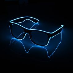 Party Hard All Night! Get LOOSE and Rave Until Sunrise! Create memories in style in these incredible flashing LED GLOW GLASSES. Everyone will want to get their picture taken with you in these stunning, fun LED glow glasses. Designer Bags Sale, Glow Party Supplies, Summer Dresses Sale, Glasses Shop, Eye Glasses, Neon Party, Party Party, Ideas Party, Partying Hard