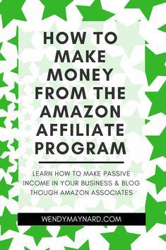Wonderful Online Affiliate Marketing Tips affiliate marketing course Make Money On Amazon, Earn Money From Home, Earn Money Online, Make Money Blogging, How To Get Money, Blogging Ideas, Money Tips, Amazon Affiliate Marketing, Online Marketing