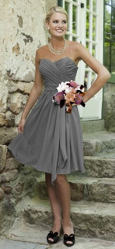 Bridesmaid dress. I think this is the second time (different picture! same dress). That means its a winner!