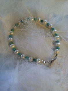Pearl & Magnesite Positive Energy Bracelet by AngelTouchReiki, $23.00