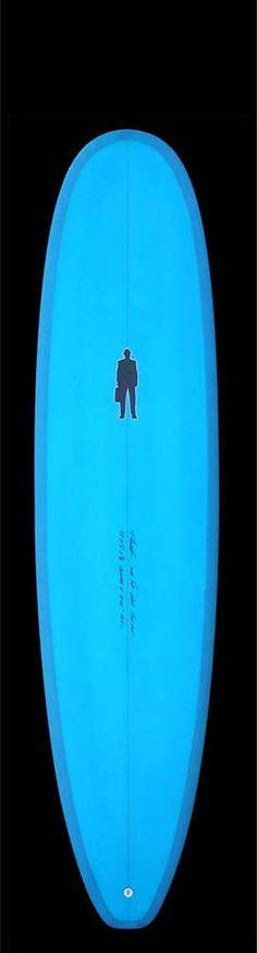 Mini Longboard / Manatee II | blue resin tint