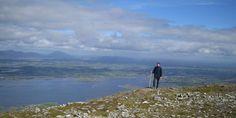 irland berg Croagh_Patrick_gipfel