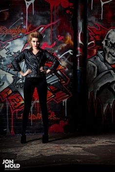 London Fashion Photography Urban Gritty Portrait