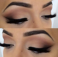 we just love this gorgeous look with those lush dark faux lashes!  #faux #minklashes #vegan