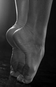 Feet for dance.