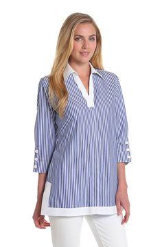 Foxcroft Patio Stripe Tunic