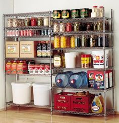 Commercial Storage Container Pantry Food Organization Racks