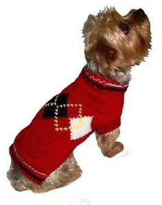 140829a1b8b6 Dog Sweaters & Hoodies For Small Puppies & Big Dogs. Hand Knitted  SweatersRed ...