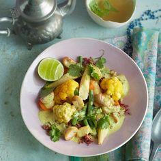 ESSEN & TRINKEN - Gemüse-Curry mit rotem Reis Rezept