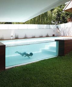 To own a pool like this!