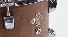 Liberty Drums Walnut finish