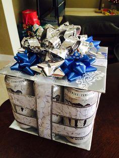 Monster energy drink present gift... Perfect for work secret Santa ;)