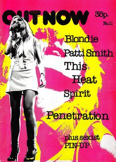 Out Now - Music Fanzine - Debbie Harry Cover | Flickr - Photo Sharing!