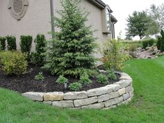 46 Backyard Landscaping Along Fence Plants Retaining Walls Best Picture For Landscaping Retaining Wa Landscaping Along Fence, Landscaping Retaining Walls, Landscaping With Rocks, Landscaping Plants, Landscaping Ideas, Hillside Landscaping, Outdoor Landscaping, Landscaping Front Of House, Farmhouse Landscaping