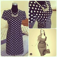 Ludmila's Megan dress - sewing pattern in Love at First Stitch