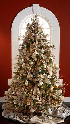2014 Champagne Frost Tree #1 by RAZ Imports