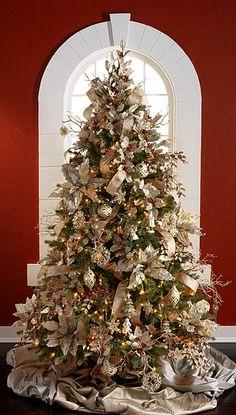 2014 Champagne Frost Tree #1 by RAZ Imports