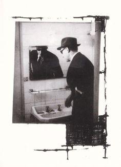 WILLIAM BURROUGHS BRION GYSIN WILLIAM VACATES ROOMS COLLAGE BLANK NOTECARD 1996   eBay