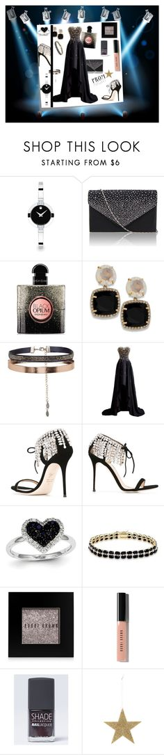 """""""Prom Sparkle"""" by kelly-floramoon-legg ❤ liked on Polyvore featuring Post-It, Movado, Yves Saint Laurent, Accessorize, Giuseppe Zanotti, Kevin Jewelers, Dolce Giavonna, Bobbi Brown Cosmetics, Lane Bryant and Bloomingville"""