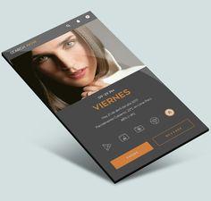 UI homescreen setup design by JSS for Zooper widgets.